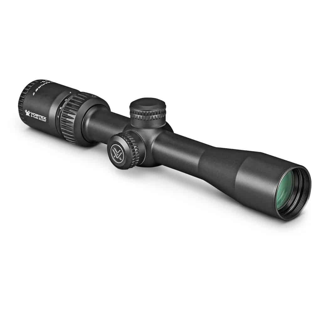 Vortex Optics Crossfire II 2-7x32 Riflescope - Scout Scope; 1-Inch Tube - V-Plex Reticle (CF2-31002)