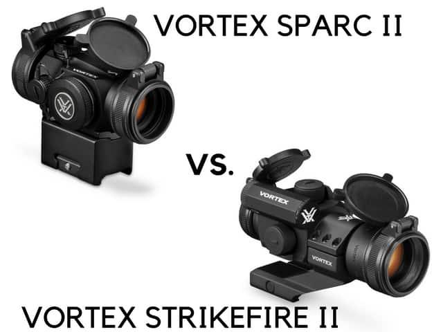 vortex sparc II vs strikefire II