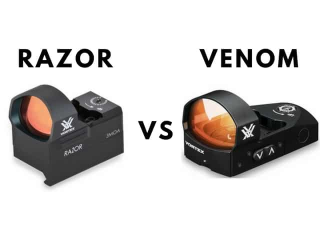 Vortex Razor Vs Venom Dependable Options Compared