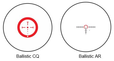 reticle options