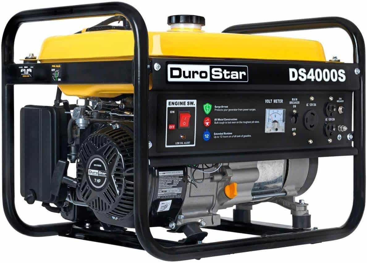 DuroStar DS4000S Gas Powered 4000-Watt Generator