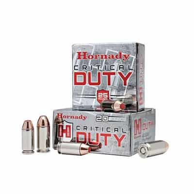 Hornady Critical Duty 9mm Luger