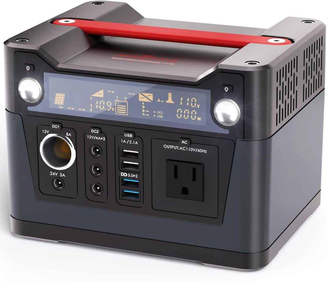 ROCKPALS 300W Portable Generator and Lithium Power Station