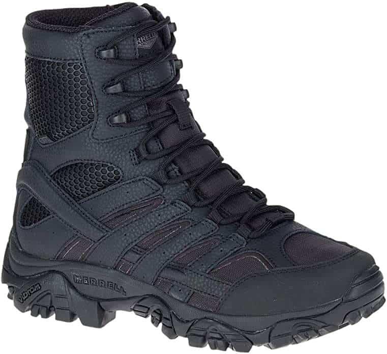 Merrell Moab 2 8inch Tactical Waterproof Boot Mens