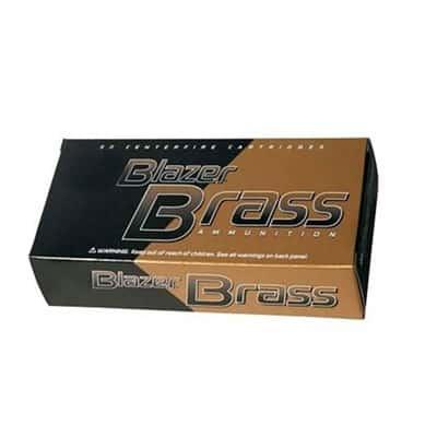 CCI - BLAZER BRASS 9MM LUGER AMMO