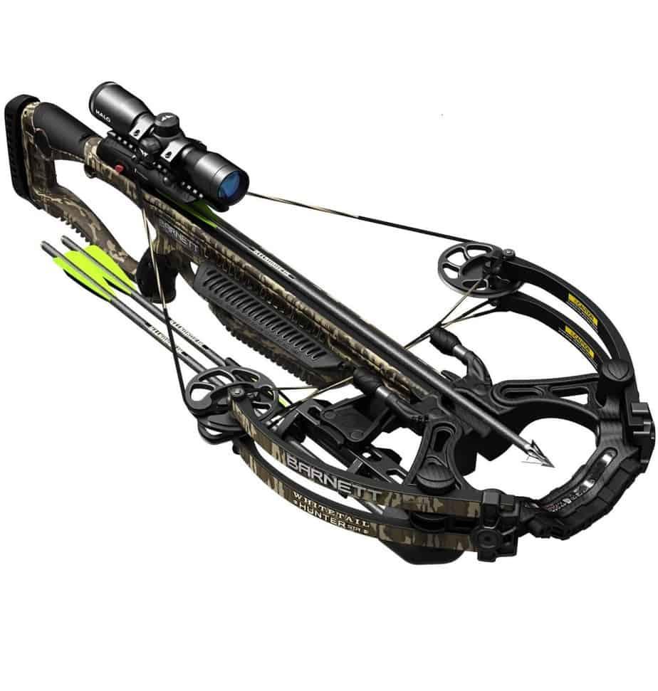 BARNETT Whitetail Hunter STR Crossbow in Mossy Oak Bottomland