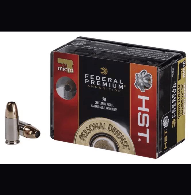 Federal Premium Personal Defense Micro HST