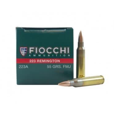 Fiocchi Shooting Dynamics .223 Rem 55GR FMJ