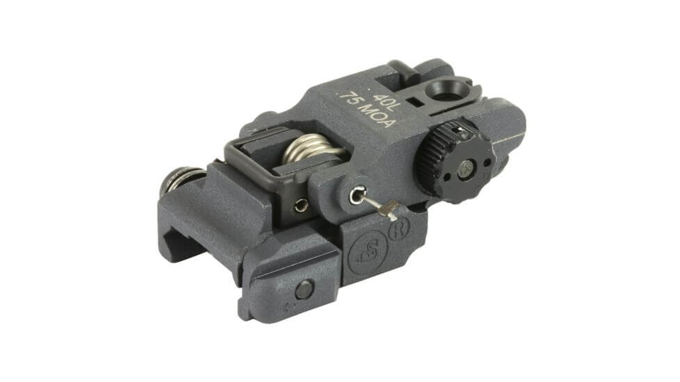 A.R.M.S., Inc. Low Profile Flip Up Rear Sight