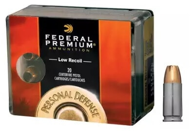 Federal Premium Personal Defense Pistol Cartridges
