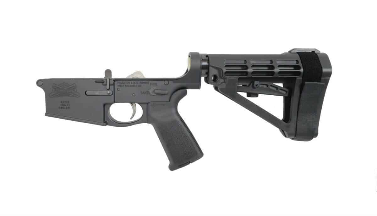 PSA Gen3 PA10 Forged Complete SBA4 .308