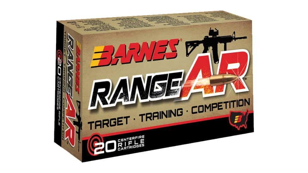 Barnes Bullets Range AR Ammo