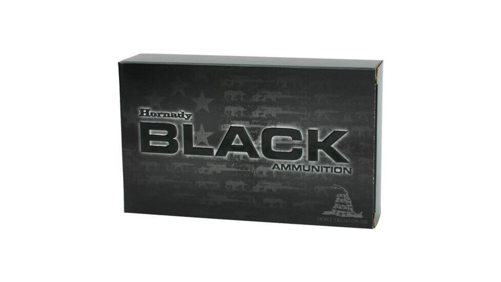 Hornady Black .208 grain Subsonic Rifle Ammunition