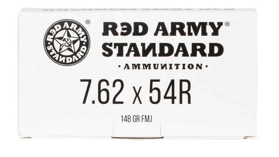 Red Army Standard 7.62x54mmR 148 GR Full Metal Jacket