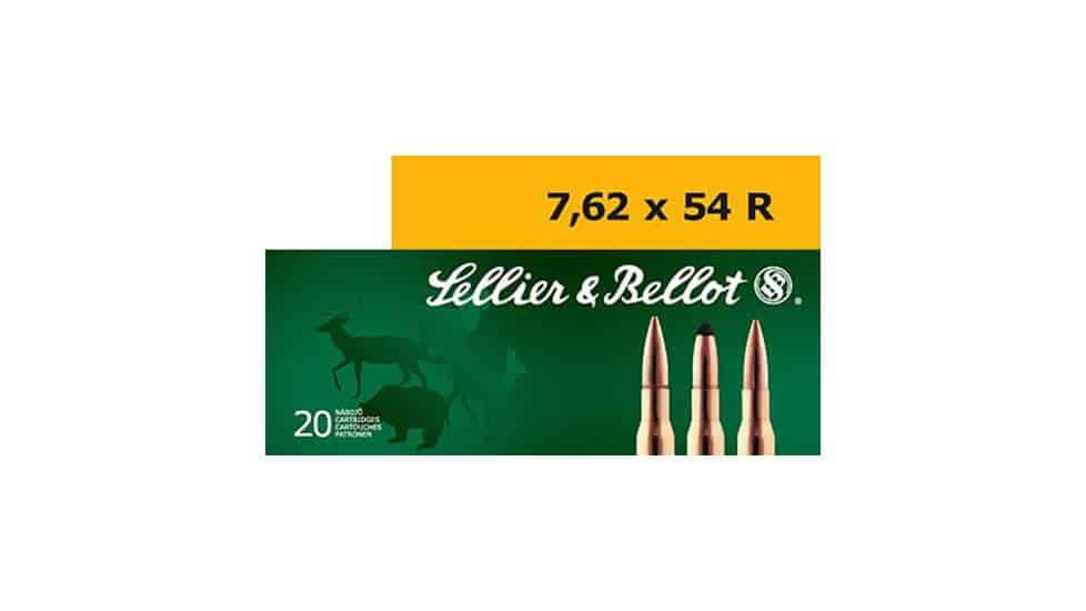 Sellier & Bellot 7.62x54mmR 180 GR Full Metal Jacket (FMJ)