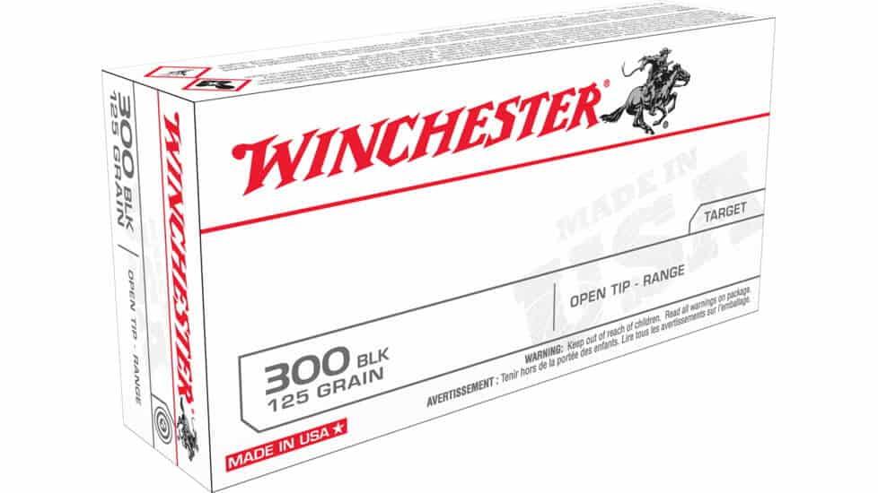 Winchester USA Rifle Full Metal Jacket Rifle Ammunition