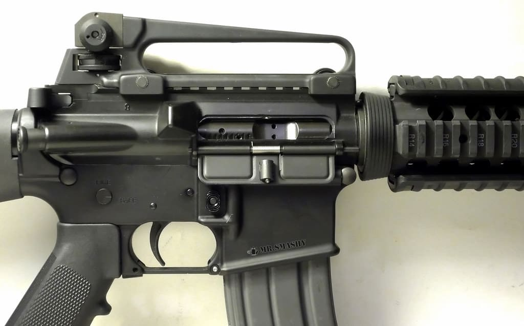 The AR-15 Carry Handle Is it Really For Carrying Your Rifle