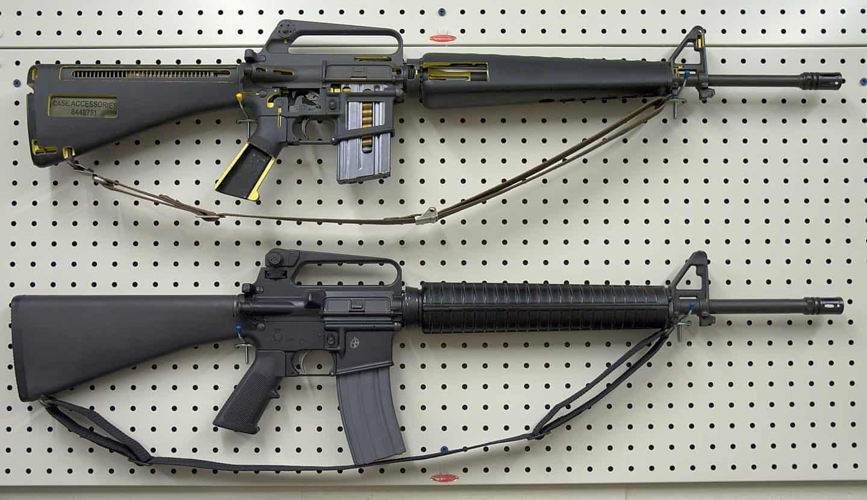 Is the AR-15 the Same as an M-16